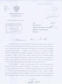 Komunikat Ministerstwa Rolnictwa w sprawie afrykańskiego pomoru świń