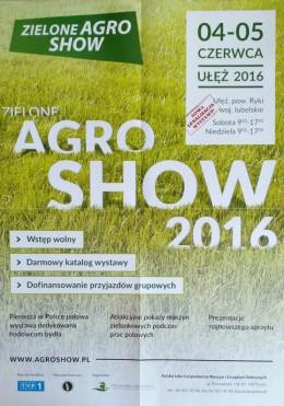 Zaproszenie na AGRO SHOW 2016