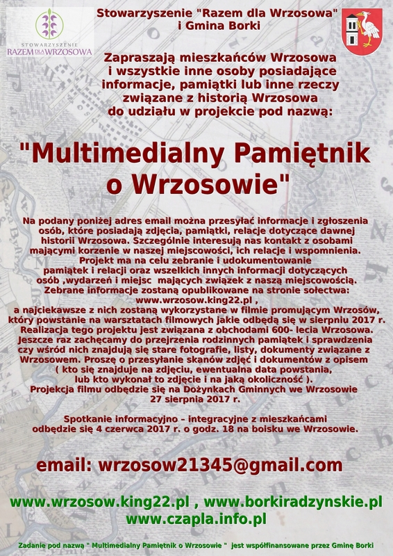 Plakat projektu MPoW-m