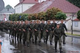 Przysięga Wojsk Obrony Terytorialnej w Radzyniu Podlaskim.