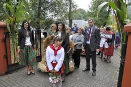 Kilka zdjęć delegacji ze Wrzosowa na Dożynkach Gminnych 2018 w Borkach